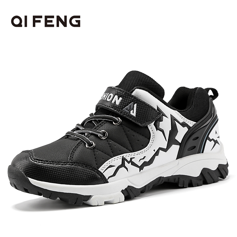 2019 New Spring Autumn Children Outdoor Sports Hiking Shoes, Rock Climbing Kids Trekking Footwear, Boy Student Casual Sneakers