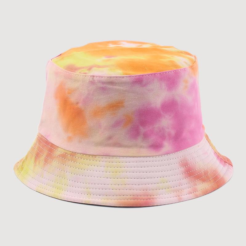Adult Bucket Hat Fisherman Hat Reversible Fishing Hat Colourful Graffiti Bob Caps Hip Hop Creative Tie Dye Gorros Men Women