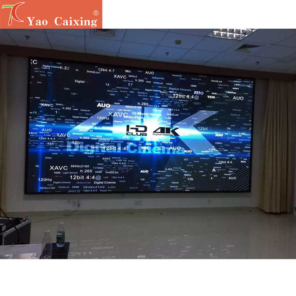 Free Wifi Controller P4 Indoor SMD Full Color Led Dot Matrix Digital Video Wall Display Screen
