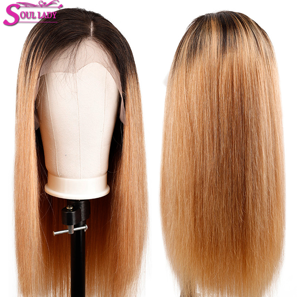 1b 27 Ombre human hair wig