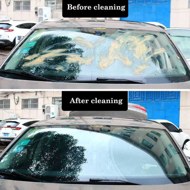 NW10PCS/Pack(1PCS=4L Water)Car Solid Wiper Fine Seminoma Wiper Auto Window Cleaning Car Windshield Glass Cleaner Car Accessories 2