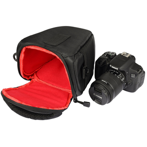 Image 4 - Сумка для камеры, наплечный чехол для Sony Alpha A6500 A6300, сумка для камеры, чехол для Canon EOS M50 M6 DSLR, чехол для объектива Nikon D3200 D3400
