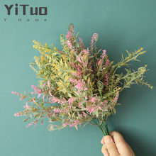 YiTuo Wedding Decoration Seahorse Grass Artificial Flowers Green Plants Crafts MW73773