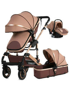 Baby-Stroller Double-Faced High-Landscape Children New in 3-To-1 Four-Seasons In-Russia
