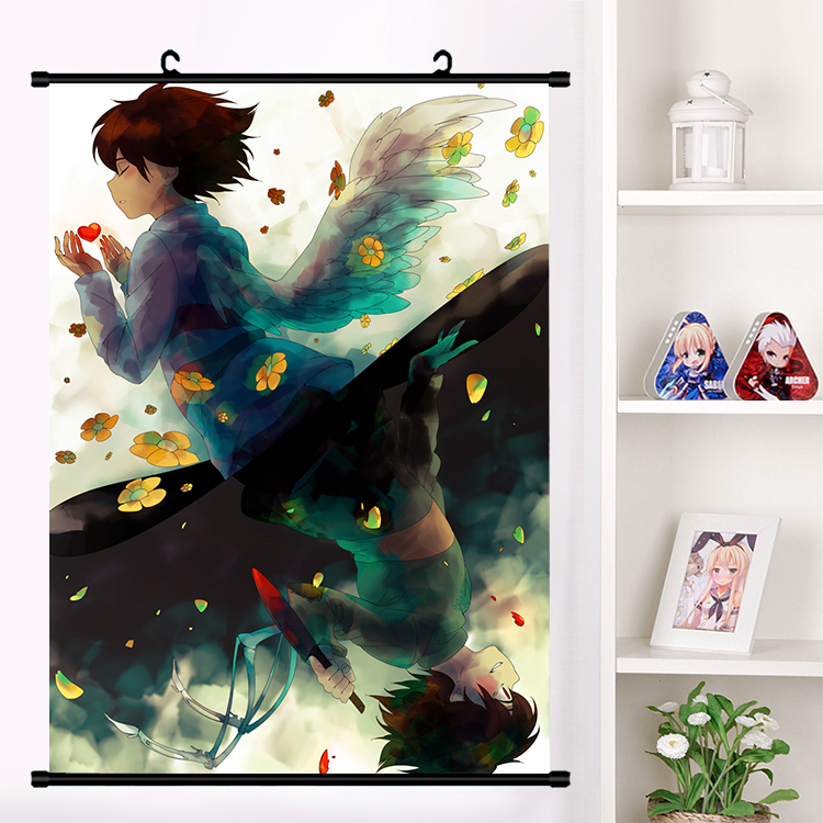 Anime undertale Frisk Wall Scroll Poster Collection Home Decor Art mural