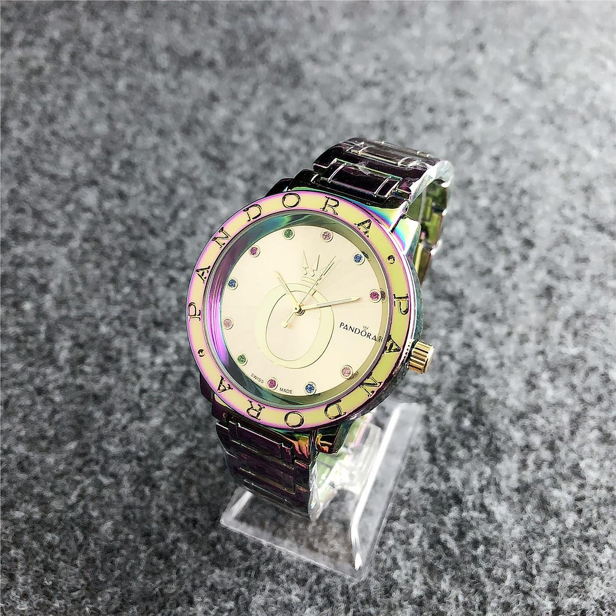 Women Pandoraes Bracelet Charms Silver 925 Original Pandoraes Watch Luxury Ladies Watches For Women Reloj Mujer Saat Relogio