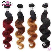 Малазийские волнистые пряди волос may queen 10 26 дюймов 100%