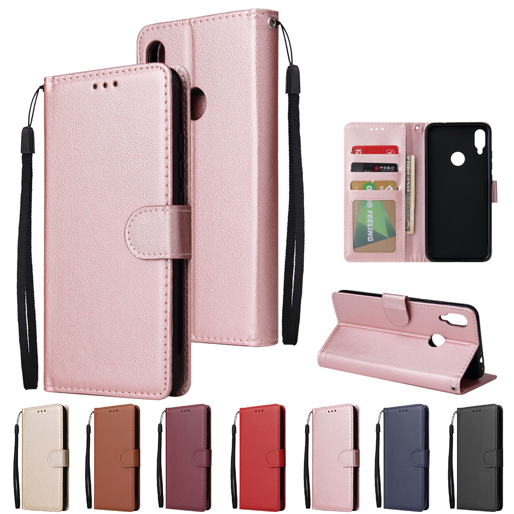 Leather Case for <font><b>Xiaomi</b></font> <font><b>Redmi</b></font> Note 8 7 6 5 4 Pro 8A 7A <font><b>6A</b></font> 5A 4X 5X 5 Plus Y1 Pocophone F1 K20 9T Flip Wallet Case Housing Cover image