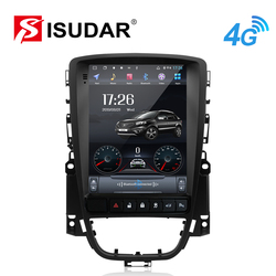 Isudar H53 Vertical 1 Din Android Auto Radio For Opel/Vauxhall/Astra J Buick/Verano 2009-2014 GPS Car Multimedia RAM 4G ROM 64GB
