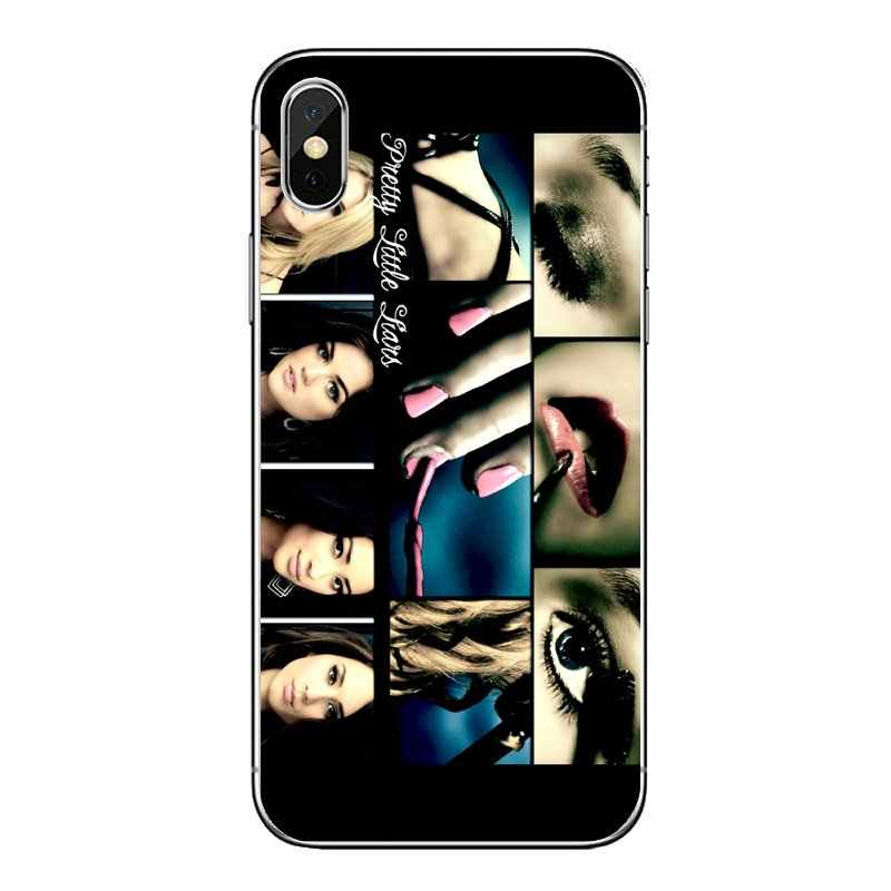 Pretty Little Liars PLL TV Show พิมพ์สำหรับ iPod Touch iPhone 4 4S 5S 5C SE 6 6S 7 8 X XR XS Plus MAX Transparent TPU กระเป๋า