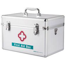 Домашняя медицина чемодан на плечо алюминиевый ПВХ с замком