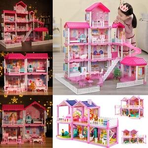 Handmade Dollhouse Castle DIY