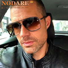 NODARE 2020 Hot Classic Oversized Men Brand Design Sunglasses