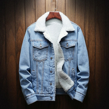 Spring Autumn Winter 2019 Fashion Coat Warm Fur Jean Jacket