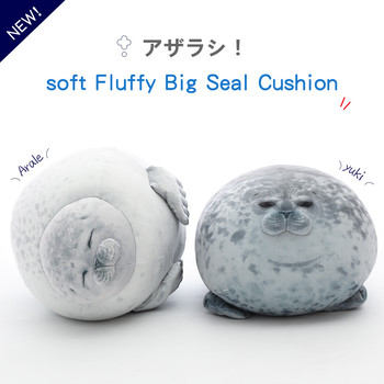 1pc soft 30-80cm Soft Sea Lion Plush Toys Sea World Animal Seal Plush Stuffed Doll Baby Sleeping Pillow Kids Girls Gifts