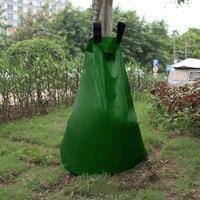 حقيبة مياه الري بالحدائق جهاز الري الأوتوماتيكي أدوات الري بالتنقيط النباتية الإخصاب زهرة زراعة أكياس شجرة البي في سي