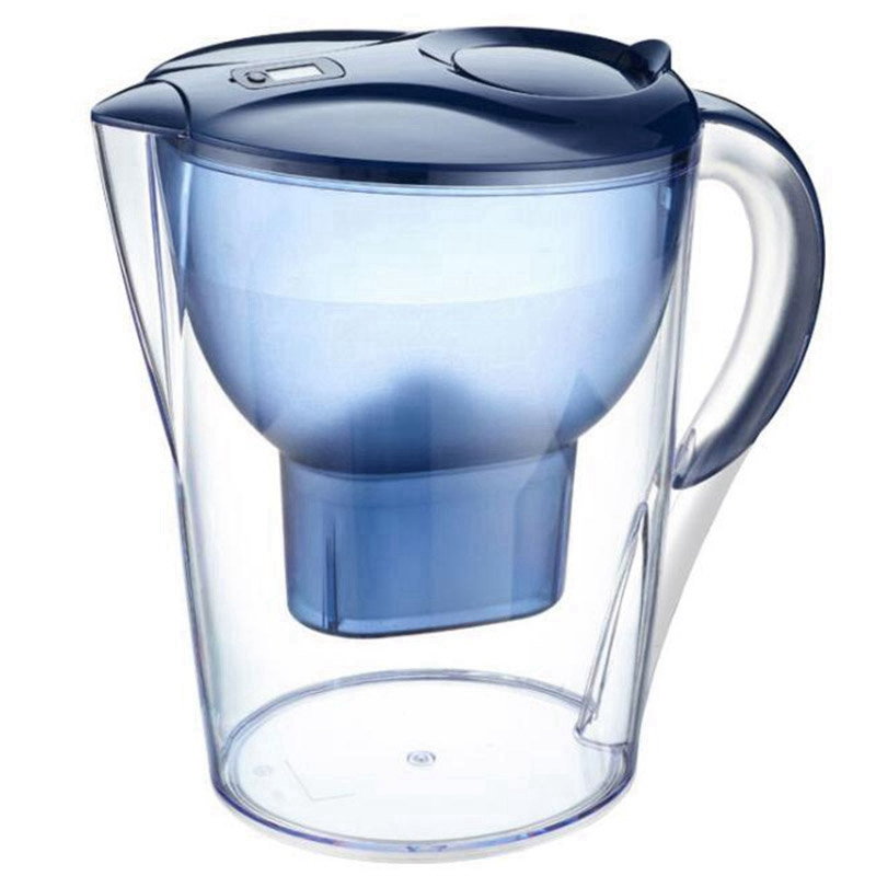 3.5L 8 Cup Household Remove Residual Chlorine 5 Layer Filter Activate Carbon Water Filter Pitcher Healthy with Bpa Free Electric Kettles    - title=