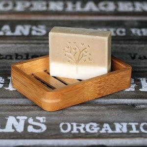 Деревянный Натуральный Бамбуковый держатель для мыльницы, подставка для мыла, портативная тарелка для мыла для ванной комнаты, контейнер, а...