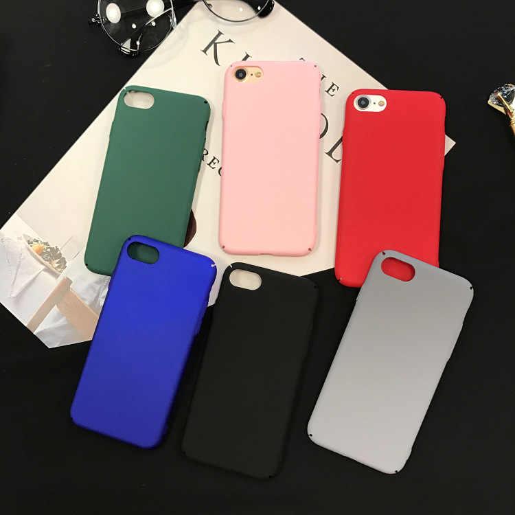 かわいいピンク、赤、黒ハード電話ケース iphone 8 7 6 s 6 S プラスケースカバー Funda ための iphone XS 最大 XR × 7 プラス 8 プラスアップルケース