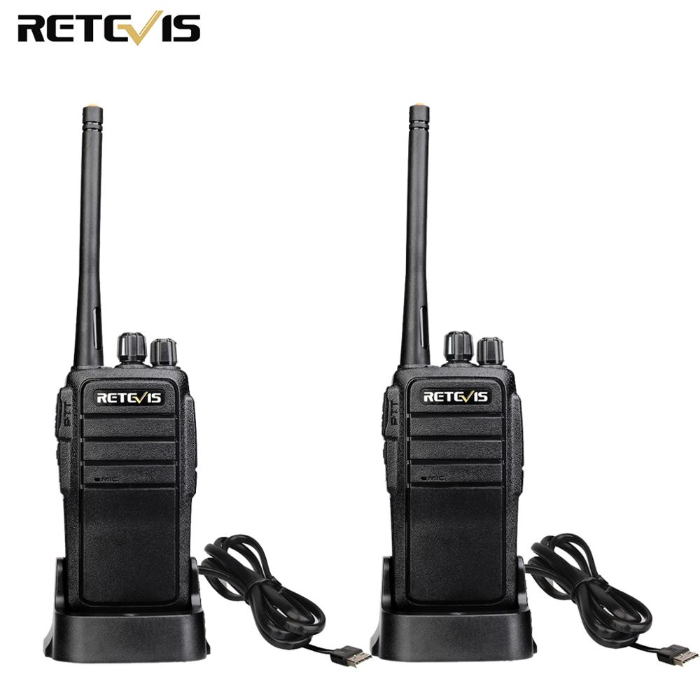 Portable Walkie Talkie 2pcs Retevis RT21 2.5W UHF VOX Scrambler Ham Radio Hf Transceiver 2 Way Radio Set Comunicador Walk Talk
