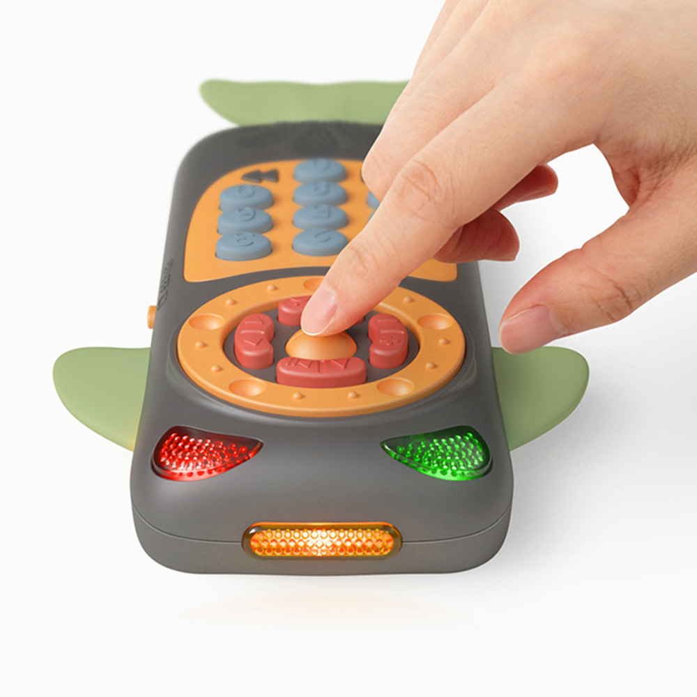 Vocal Toys Cartoon Simulation Touch Screen Music Phone Baby Mobile Cute Toys Baby Music Phone Educational Learning Telephone