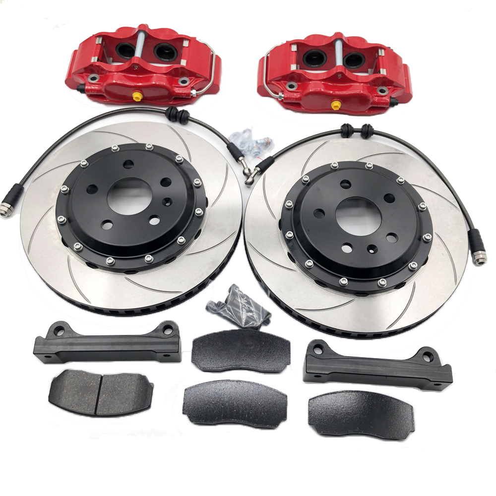Jekit 5200 High-Performance RACING Car Modified Braking System for the 17-inch front wheels 4 POT Calipers Fit For Benz/Ford-BMW