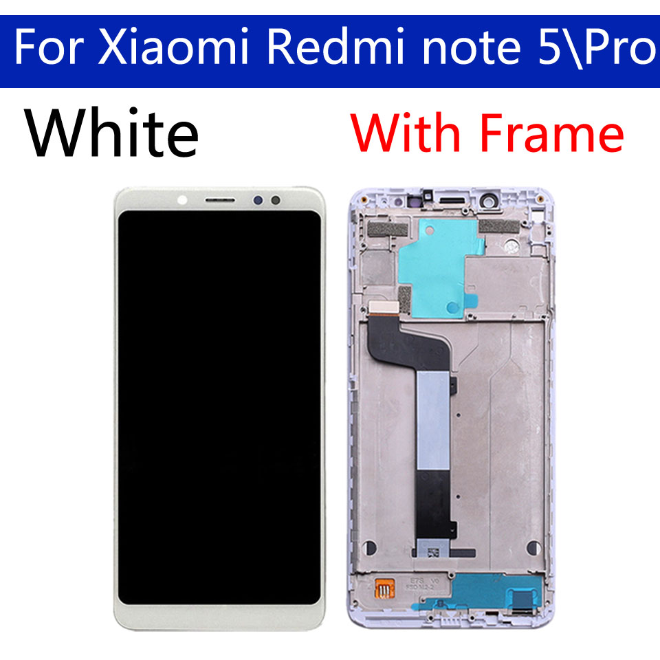 "Image 5 - 5.99"" Original For Xiaomi Redmi Note 5 LCD Screen Display With Frame + Touch Screen Panel Digitizer For Xiaomi Redmi Note 5 ProMobile Phone LCD Screens   -"