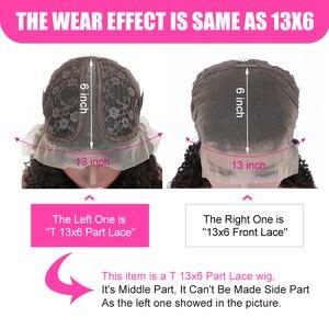 Image 3 - YYong 1x6 Topline Lace и 4x4 малазийский парик на сетке с водной волной предварительно выщипанный с детскими волосами Remy HD прозрачный парик из человеческих волос