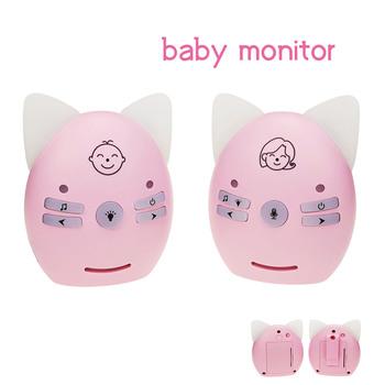 Baba nowy Audio niania elektroniczna Baby Monitor 2 4GHz cyfrowy przenośny Monitor dla dzieci domofon bezprzewodowy niania elektroniczna Baby Monitor Baby Boy dziewczyna noc płakać V30 tanie i dobre opinie GILEETEEK wireless CN (pochodzenie) Baby Monitor audio sound Brak CMOS Stwardnienie Odbiornik Dziecko Cry Alarmu Przenośne