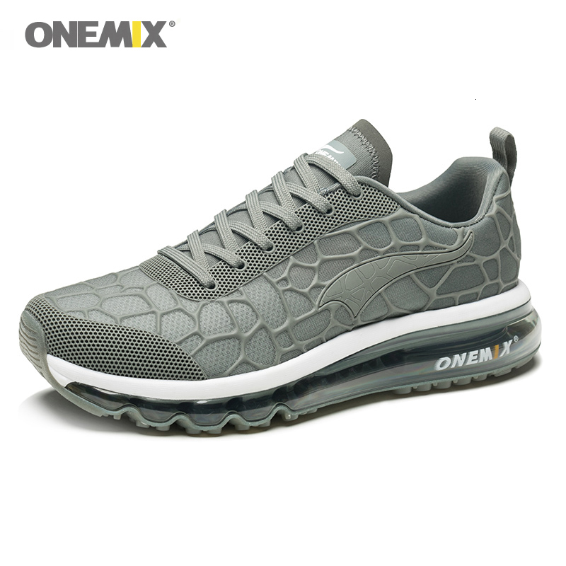 ONEMIX Air Cushion Men Running Shoes Zapatillas Hombre Men Sport Sneaker Outdoor Women Outdoor Walking Shoes Men Size35-47