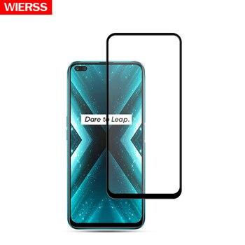 Перейти на Алиэкспресс и купить Защитная пленка из закаленного стекла с полным клеем для Realme 6 6S для Realme 6 Pro для Realme X3 SuperZoom для Realme X50 Pro 5G X50