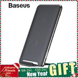 Baseus 10W 3 Bobinas Carregador Sem Fio Para o iphone X/XS Max XR Samsung Nota 9 S9 10 Xiaomi multifunções Qi almofada de Carregamento Sem Fio