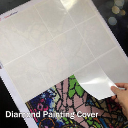10/20/50pcs Pack DIY Diamond Painting Tools Accessories Release Paper Diamond Painting Cover Replacement Convenient