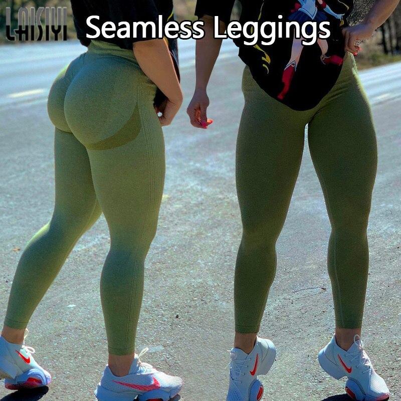 High Waist Seamless Leggings Push Up Leggins Sport Women Fitness Running Gym Pants Energy Seamless Leggings Sport Girl Leggins 6