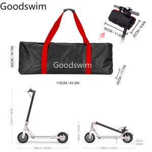 Image 5 - Portatile Panno di Oxford Scooter Bag Borsa Per Il Trasporto del Sacchetto per Xiaomi Norma Mijia M365 e M365 Pro Elettrico di Skateboard Borsa Impermeabile Resistente Allo Strappo