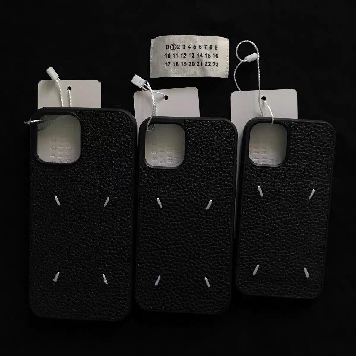 Холодильный кожаный чехол для мобильного телефона для iphone 12 Pro XR X XS Max 12 11 8 7 Plus противоударный чехол из мягкого ТПУ Margiela силиконовый черный чехол|Футболки|   | АлиЭкспресс