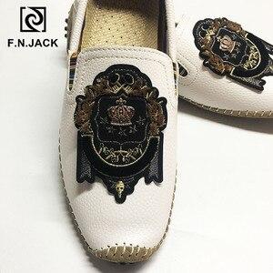 Image 2 - F.N.แจ็คPLUSขนาดรองเท้า 46 47 48 Mens Loafers Casualรองเท้าผู้ชายแฟชั่นหนังขับรถรองเท้าแตะผู้ชายรองเท้าman