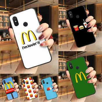 Yinuoda Hot McDonald's MetroCard French Fries Phone Case Cover For Redmi K20 Note 5 7 7a 6 8 Pro note 8T 9 Xiaomi Mi 8 9 SE image