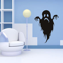 stickers Halloween Wall Sticker PVC Horror Door Stickers room decoration Window Horror 44 x 33 cm wallpaper decor for home F811(China)
