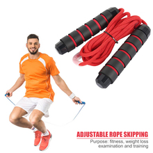 3m Adjustable Skipping Jump Rope Foam Padded Handle Fitness Sports Lose Weight Exercise Gym Crossfit Equipment