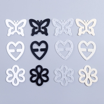 3ps New Invisible Bra Buckle Heart Shape Shadow-Shaped Underwear Buckle Bra Back Intimates Accessories Clips Strap Holders image