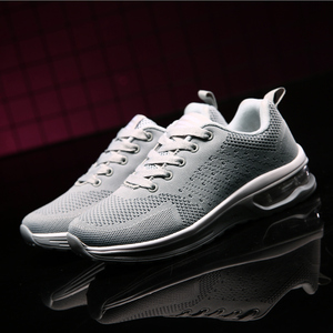 Image 5 - NASONBERG Breathable Soft Men Casual Shoes Height Increasing Non slip Sneakers Men Red Shoes Woman Massage Men Shoes