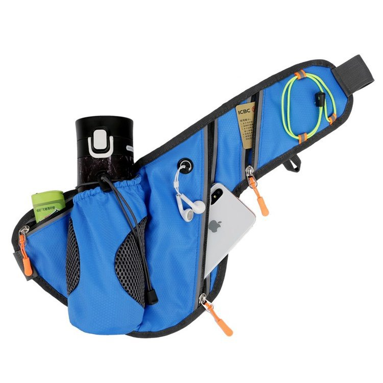 Production House 2019 Winter New Style Sports Running Bottle Waist Pack Outdoor Multi-functional Anti-Spillage Men Chest Pack