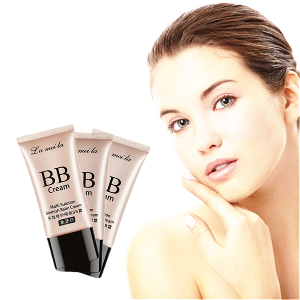 Hot Sale 50g Face Neck Wrinkles Smoonth BB Cream Anti Wrinkle Makeup Skin Whitening Compact Foundation Concealer Prevent Bask