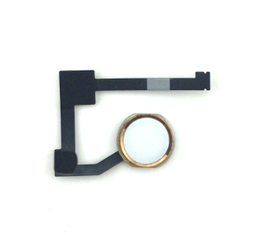 Home Button Flex Cable Assembly + Home Key Rubber Gasket For Pad <font><b>6</b></font> Air 2 A1566 A1567 only have back factions no touch ID image