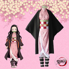 Anime Demon Slayer Kamado Nezuko Cosplay Costumes Kimetsu no