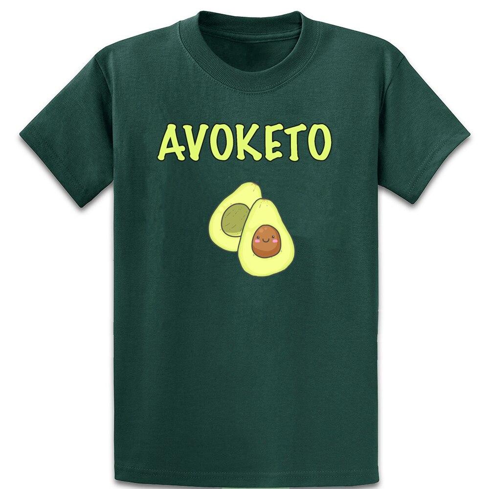 Avocado Keto Friendly Print T Shirt O-Neck Slim Spring Autumn Pictures Cotton Cute Building Customize Shirt