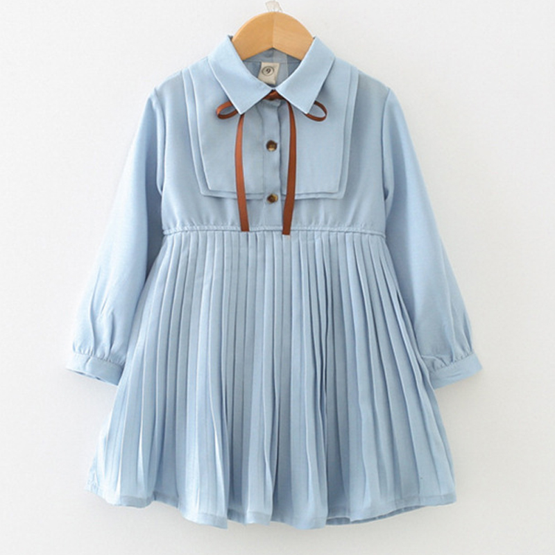 Menoea Children Clothing Suits 19 Autumn Fashion Style Girl Cowboy Long-Sleeve Mesh Dress Design For 3-8Y Kids Girls Sets 36