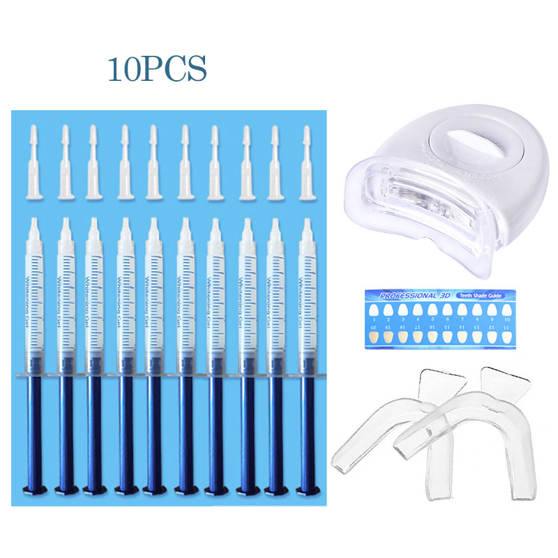 Teeth Whitening 44% Peroxide Dental Bleaching System Oral Gel Kit Tooth Whitener New Dental Equipment 10/6/3pcs Oral Care