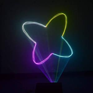 Image 4 - AUCD 40 KPPS 500mW RGB лазерное редактирование SD ILDA программа карта проектор свет DMX анимация сканирование DJ шоу сценическое оборудование освещение